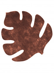 4 Tischsets Braunes Blatt