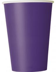 10 Trinkbecher - violett
