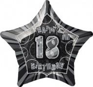 Stern Luftballon - 18 Jahre