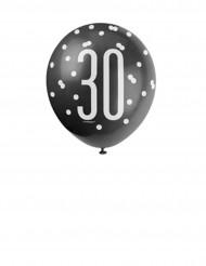 Luftballons zum 30. Geburtstag