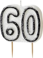 Geburtstagskerze 60