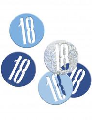 Konfetti blau/grau - 18 Jahre 14g