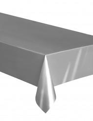 Tischdecke für festliche Anlässe Tischzubehör silberfarben 137 x 274cm