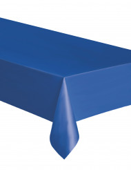 Schlichte Tischdecke blau 137x274cm