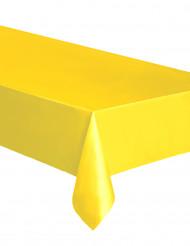Tischdecke aus Kunststoff 137 x 274 cm gelb