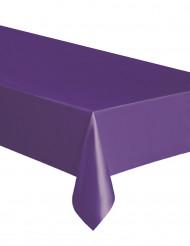 Rechteckige lilafarbende Tischdecke