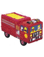 Feuerwehrwagen-Piñata