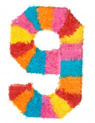 Piñata Zahl 9