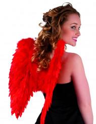 Rote Flügel für Erwachsene