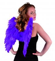 Flügel violett für Erwachsene