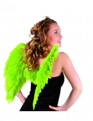 Flügel grell grün für Erwachsene