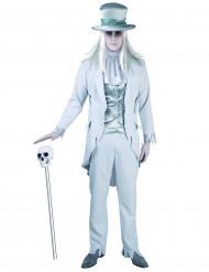 Geister Bräutigam Kostüm für Herren grau
