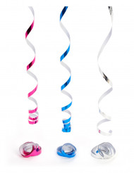 Disco-Luftschlagen in Metallic-Farben