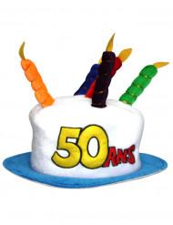 Hut zum 50.Geburtstag für Erwachsene