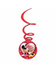 3 Minnie Maus™ Suspendierungen