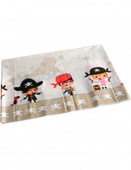 Plastik-Tischdecke mit Piraten-Motiv