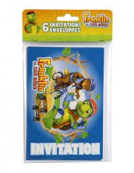6 Einladungskarten mit Umschlag Franklin™
