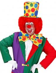 Clowns-Zylinder-Hut für Erwachsene