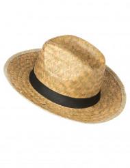 Flecht-Cowboyhut für Erwachsene