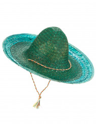 Grüner mexikanischer Sombrero für Erwachsene