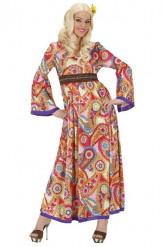 Hippie-Kostüm für Damen