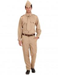 Amerikanischer Soldat - Kostüm für Herren
