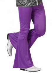 Violettfarbene Disco-Hose für Herren