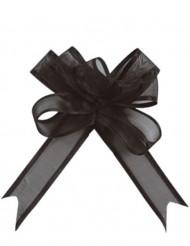 Geschenk-Schleifen 5 Stück Verpackungsmaterial Schwarz