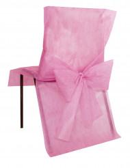 10 rosa Stuhl-Hussen