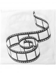 Papier Servietten - Kino
