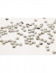 Tropfenförmige Perlen in Silber 80g