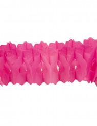 Papiergirlande fuchsiafarben 15 cm x 4 m