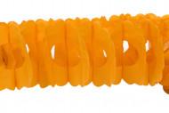 Orange Papiergirlande