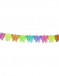 Schmetterling-Papiergirlande 6 m lang