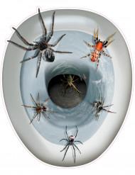 Spinnen-Aufkleber für WC-Deckel
