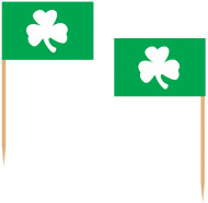 St. Patrick's Day Kleeblatt Party-Picker