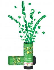 Grüne Konfettikanone