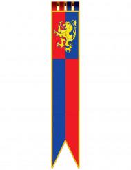 Mittelalterliche Ritter-Hängedeko 1,8 m lang