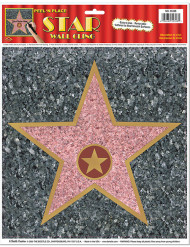 Walk of Fame-Stern Wanddeko