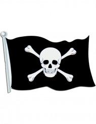 Piratenflagge - Wanddeko