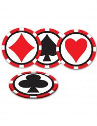 Casino-Untersetzer
