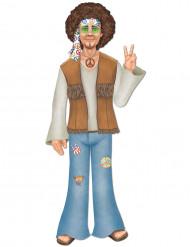 Große Figur Hippie-Mann
