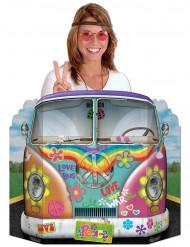 Hippie-Bus Pappaufsteller