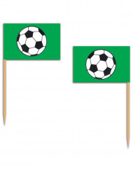 Grüne Fußball-Picker