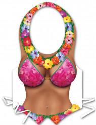 Hawaii-Kunststoffschürze für Damen