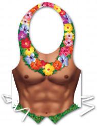 Hawaii-Kunststoffschürze für Herren