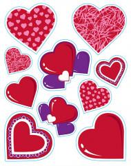 Herz-Sticker - Valentinstag