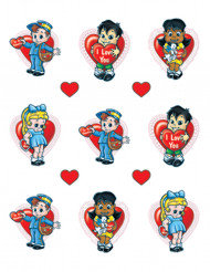 Valentinstag Stickers