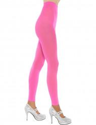 Neonrosa Leggings für Damen