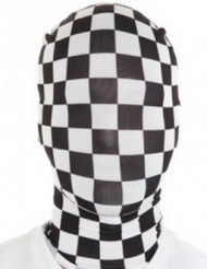 Schachbrett Morphsuits™-Maske